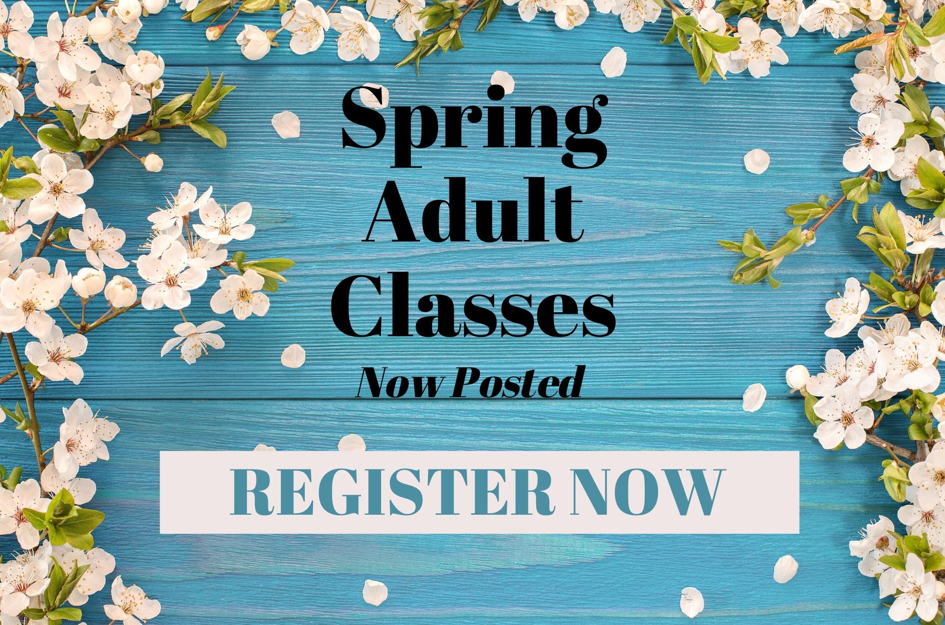 Spring 2020 Adult Class Registration
