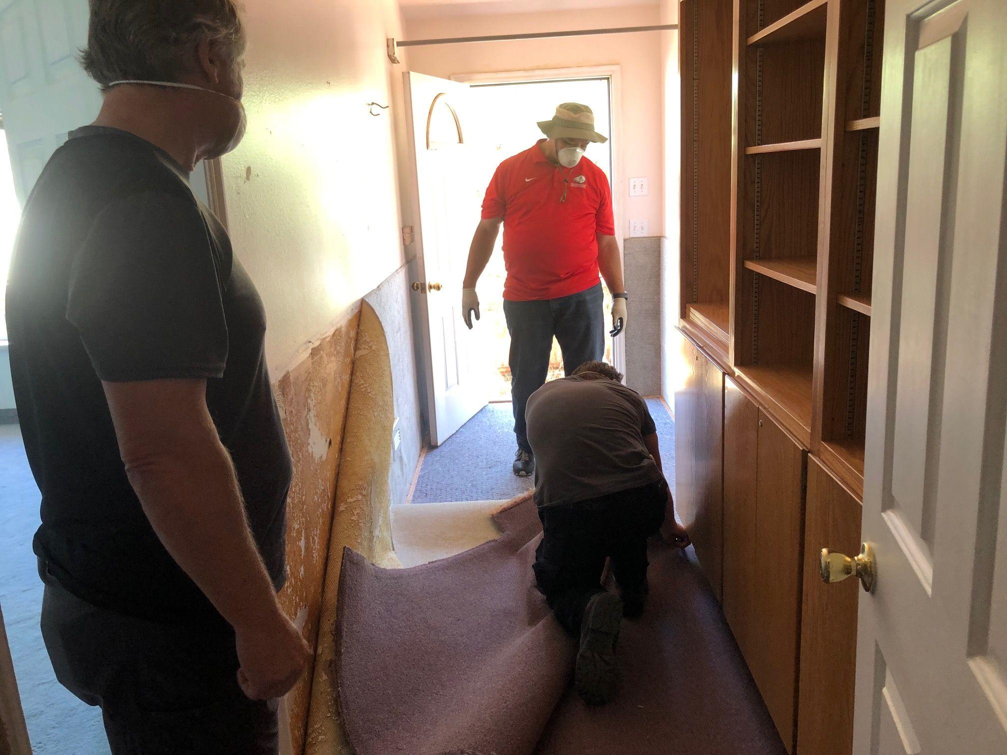 Student volunteers working in Colorado City