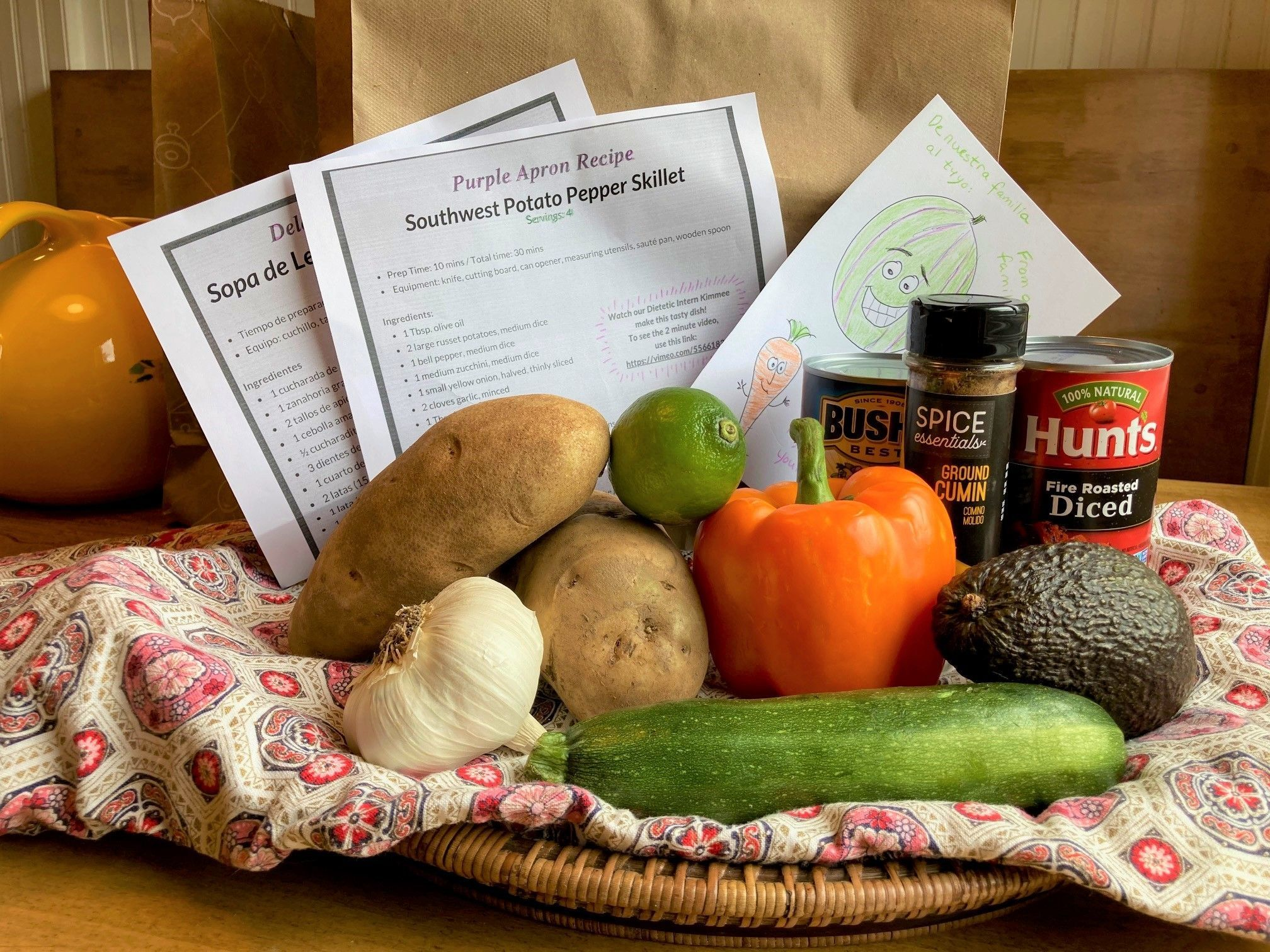 Help Our Neighbors in Need With Purple Apron Meal Kits!