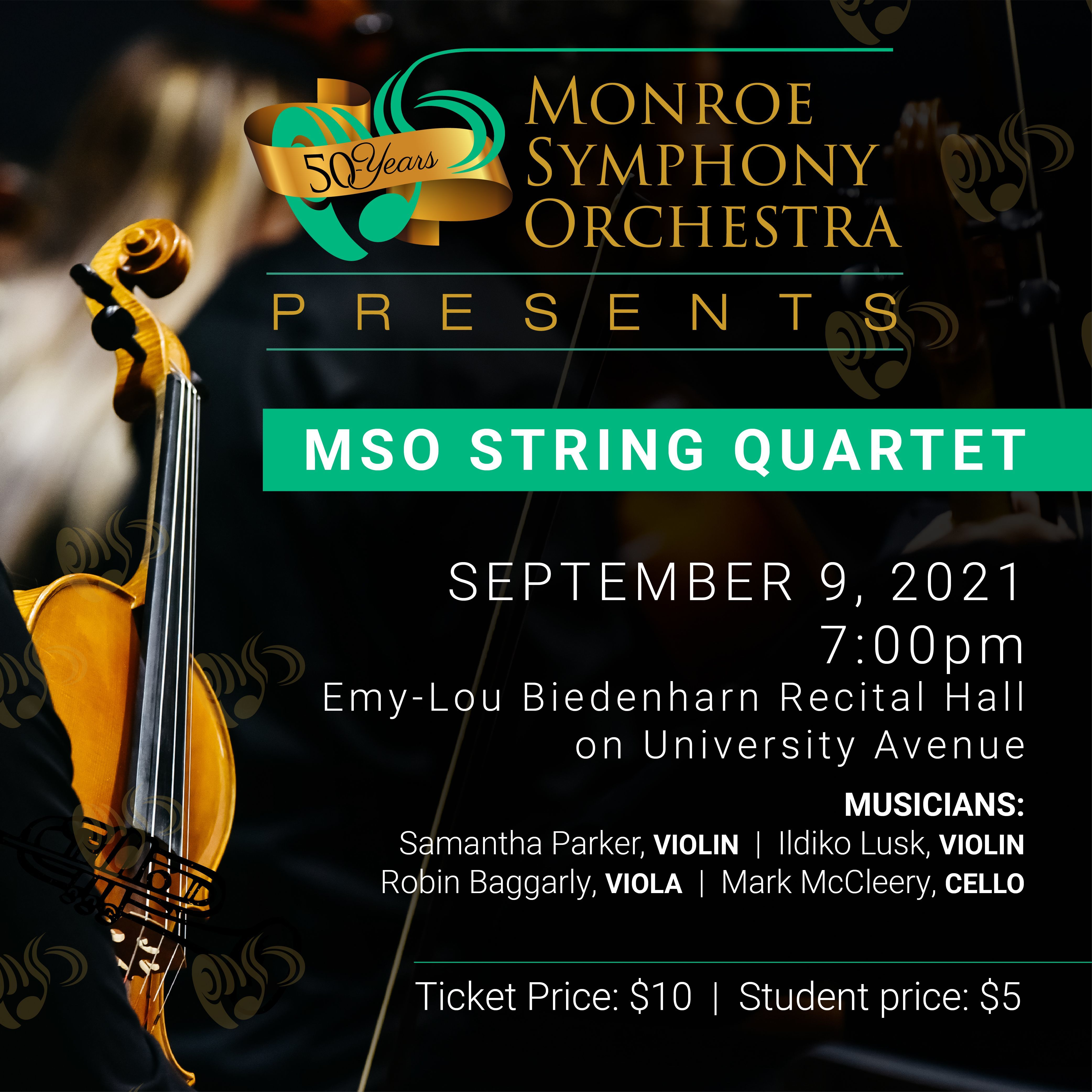 MSO Presents: MSO String Quartet