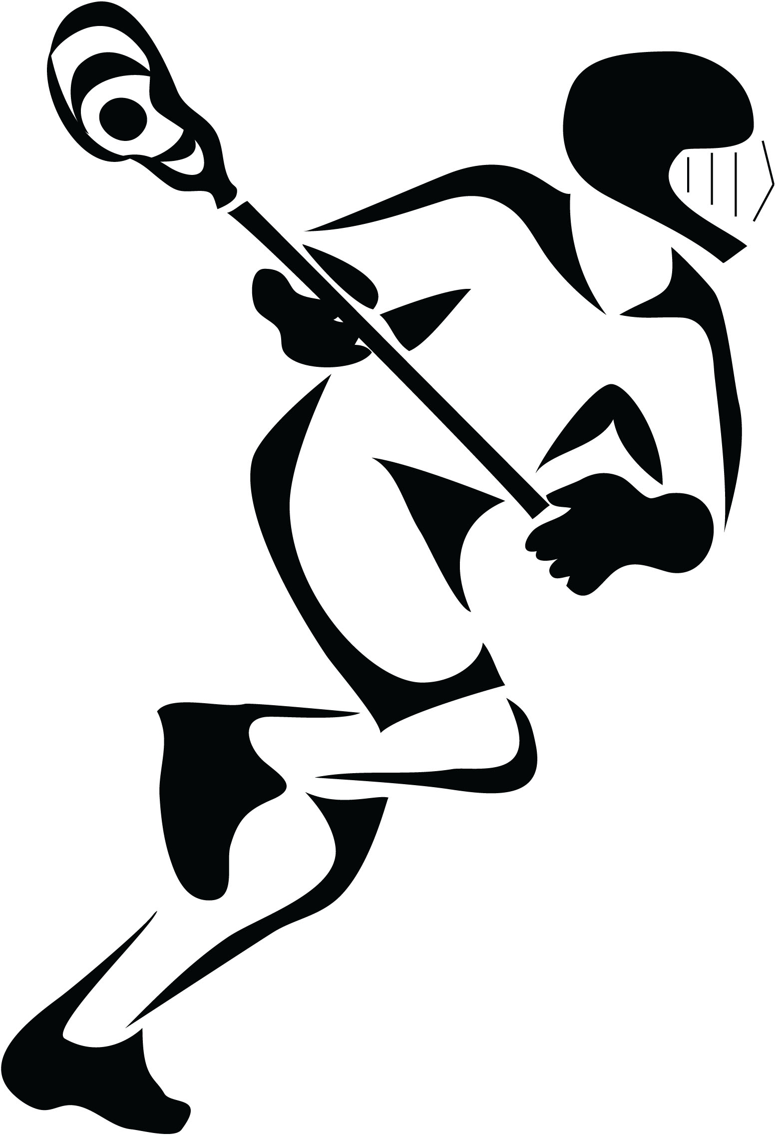 Lacrosse Player2 Cutout