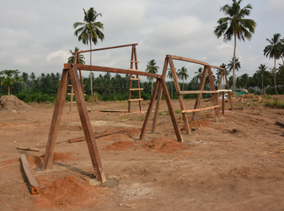 Expand the Playground at the Nkabom Centre