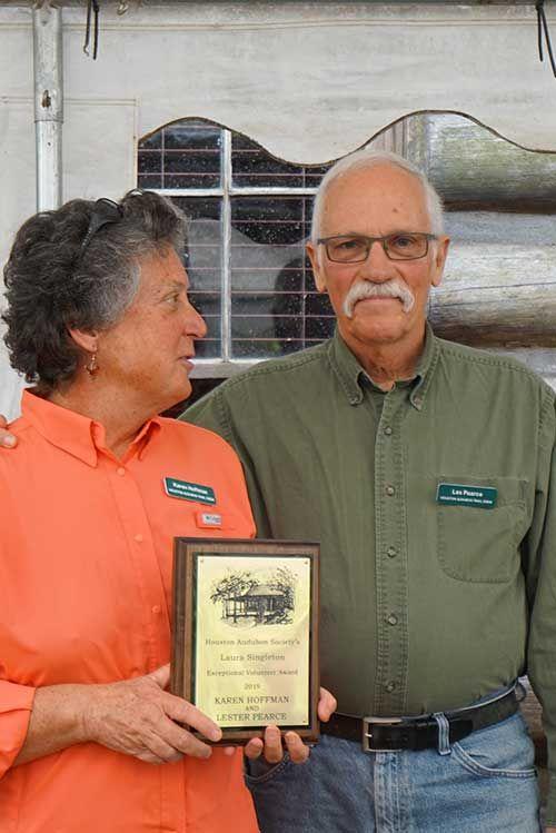 Karen Hoffman and Les Pearce