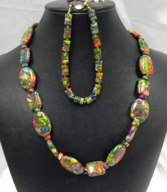 SD Chic Beads-Imp Jasper Multi-Color