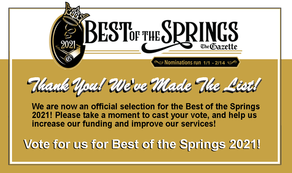 Vote MSASOCO for Best of the Springs!