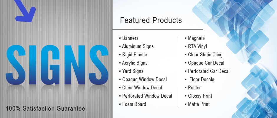 Available Signs