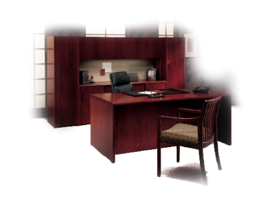 office furniture  desk hutch credenza