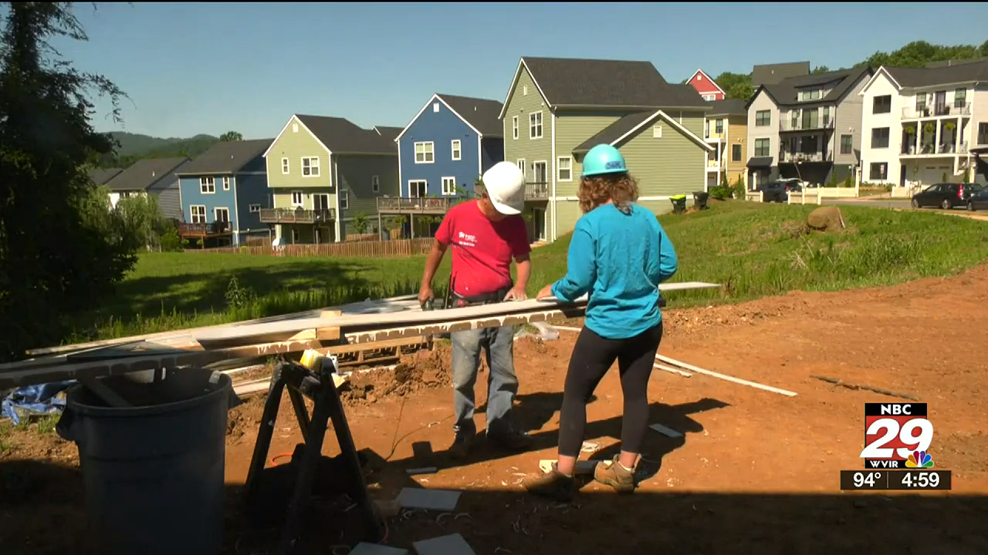 Charlottesville's Habitat for Humanity facing supply shortages