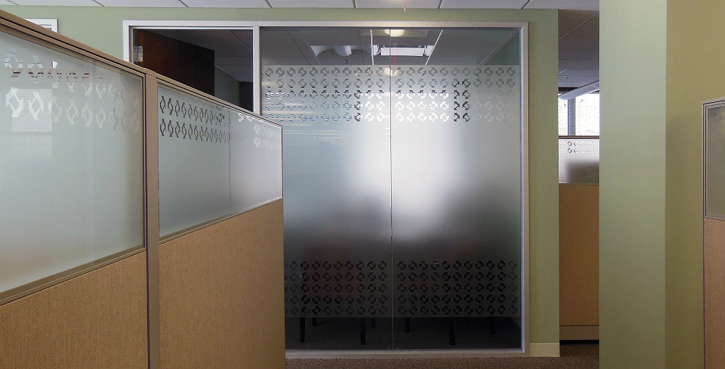 Frosted Office Pattern