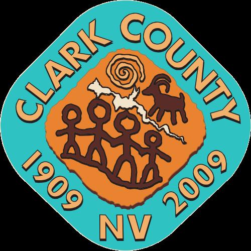 X33319 -Seal of Clark County, Nevada
