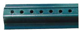 "u-Channel-Green Enamel Post-2lbs Per Ft. 3""x1.5""-8 Ft."