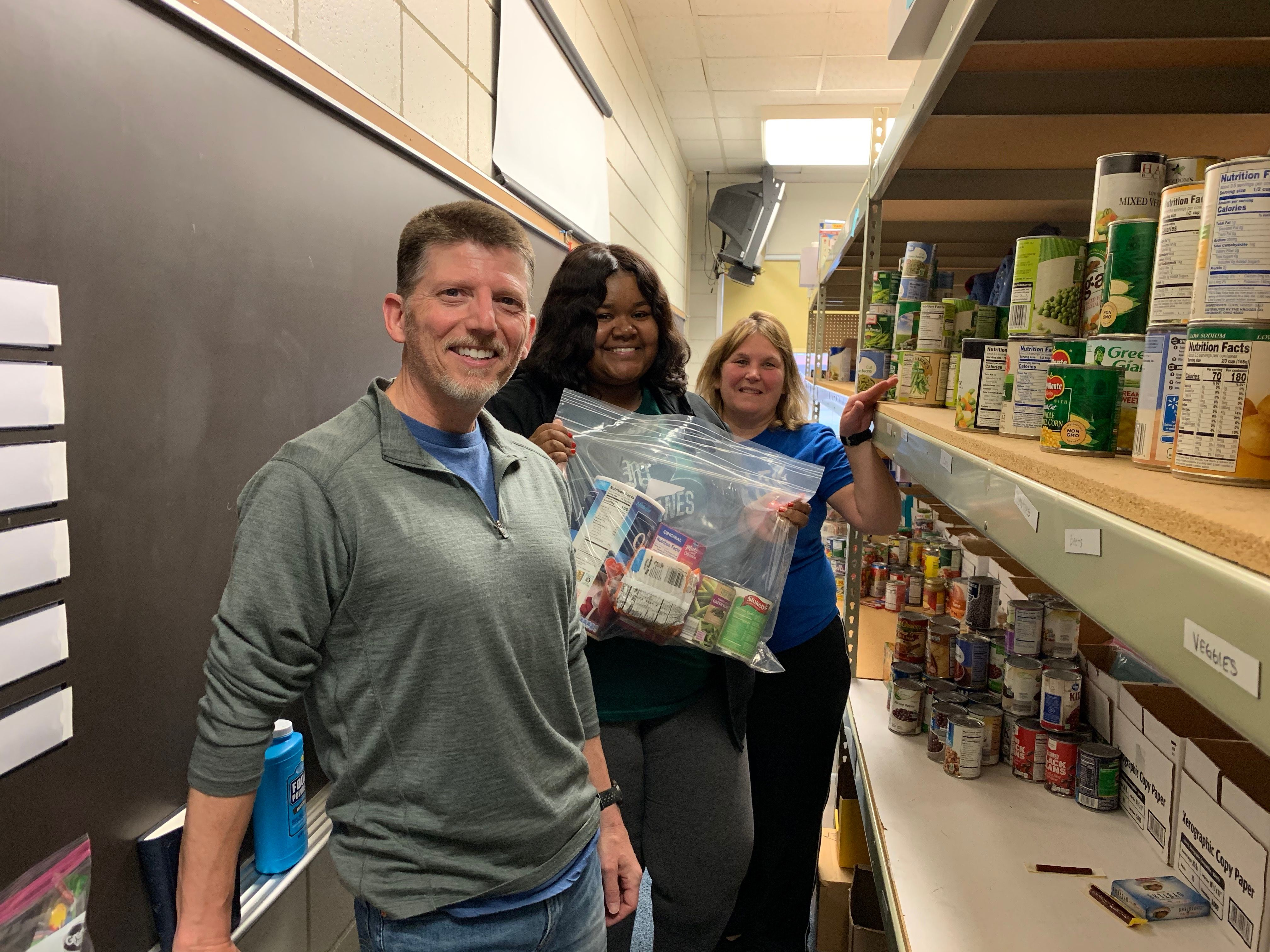 LTSF Packs Food for Families