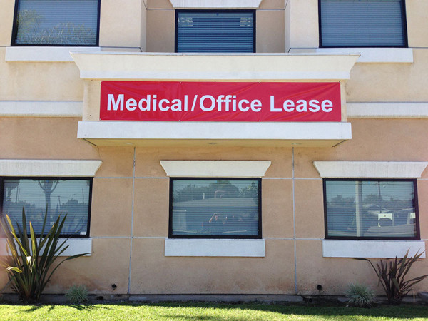 For Lease Banners for Property Management Companies in Orange County CA
