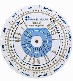 "5"" Ovulation Pregnancy Calendar Wheel"