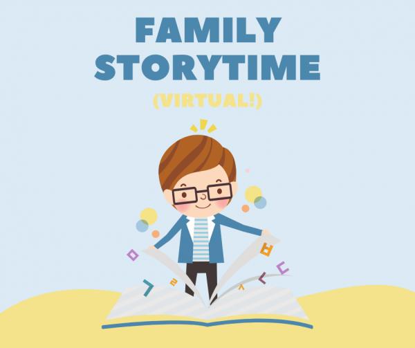Family Storytime (Virtual)