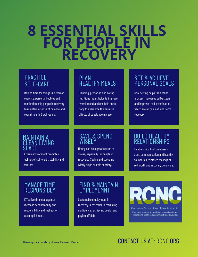 8 Essential Life Skills for People in Recovery