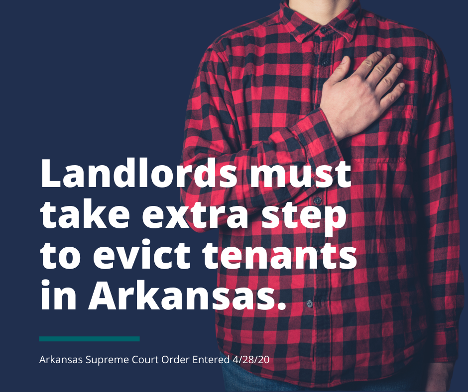 Landlords Must Take Extra Step to Evict Tenants in Arkansas