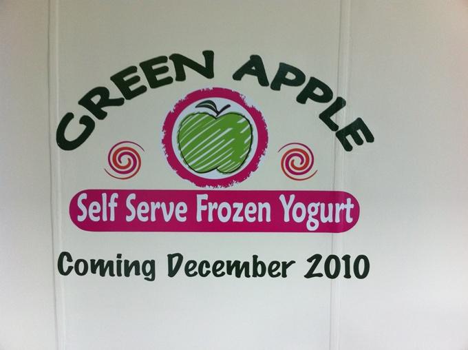 Green Apple Graphic