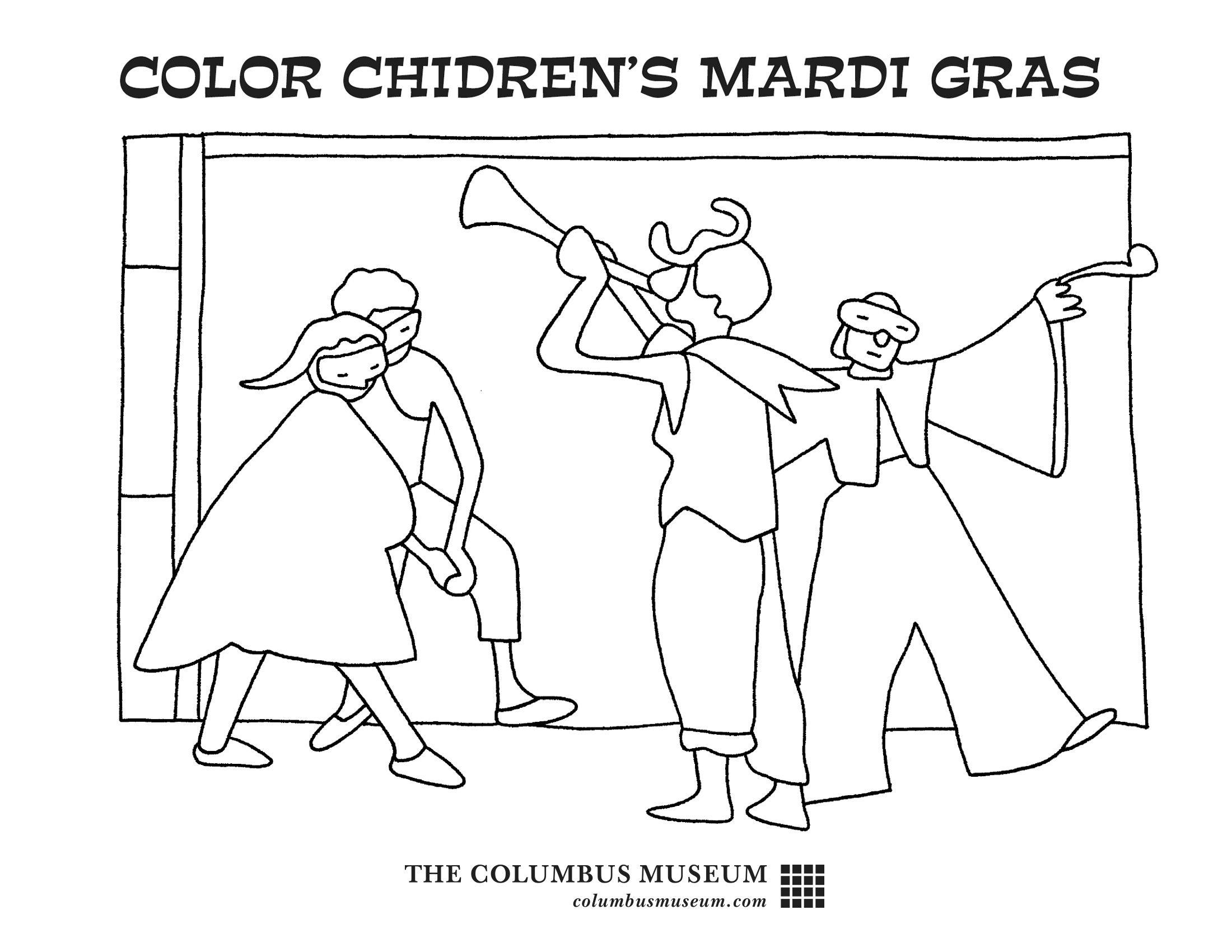 Children Mardi Gras