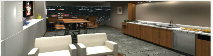 Pinnacle Bank Arena Suite