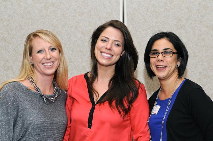 Karen Carroll, Katie Abraham, Sylvia Cardona
