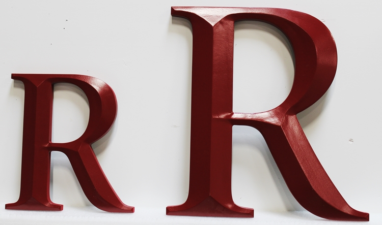 M5417 -  Custom Prismatic Cut-out  Letters made from High-Density-Urethane,