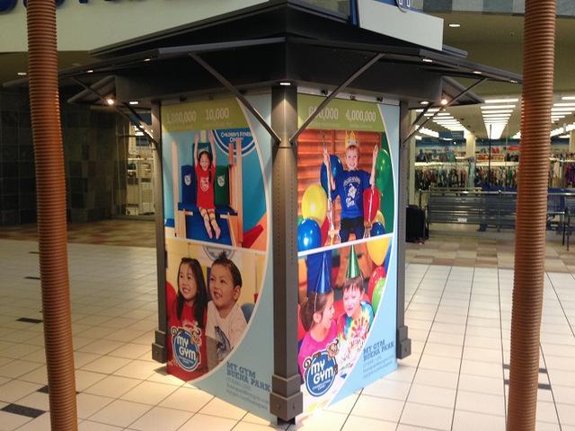 Buena Park Mall Kiosk Graphics