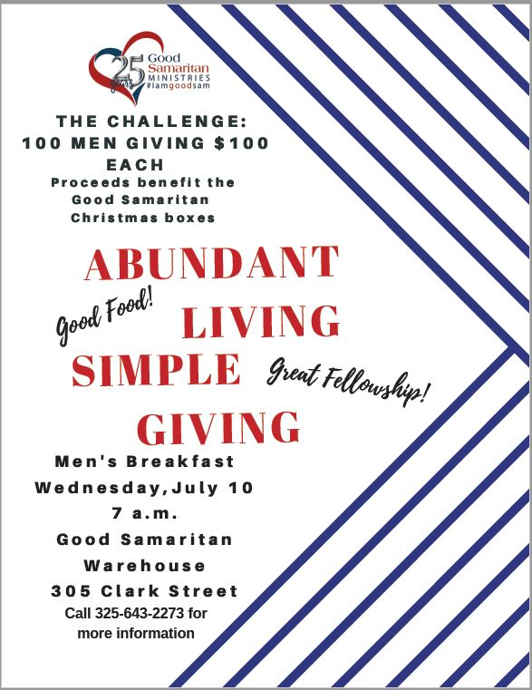 Abundant Living, Simple Giving