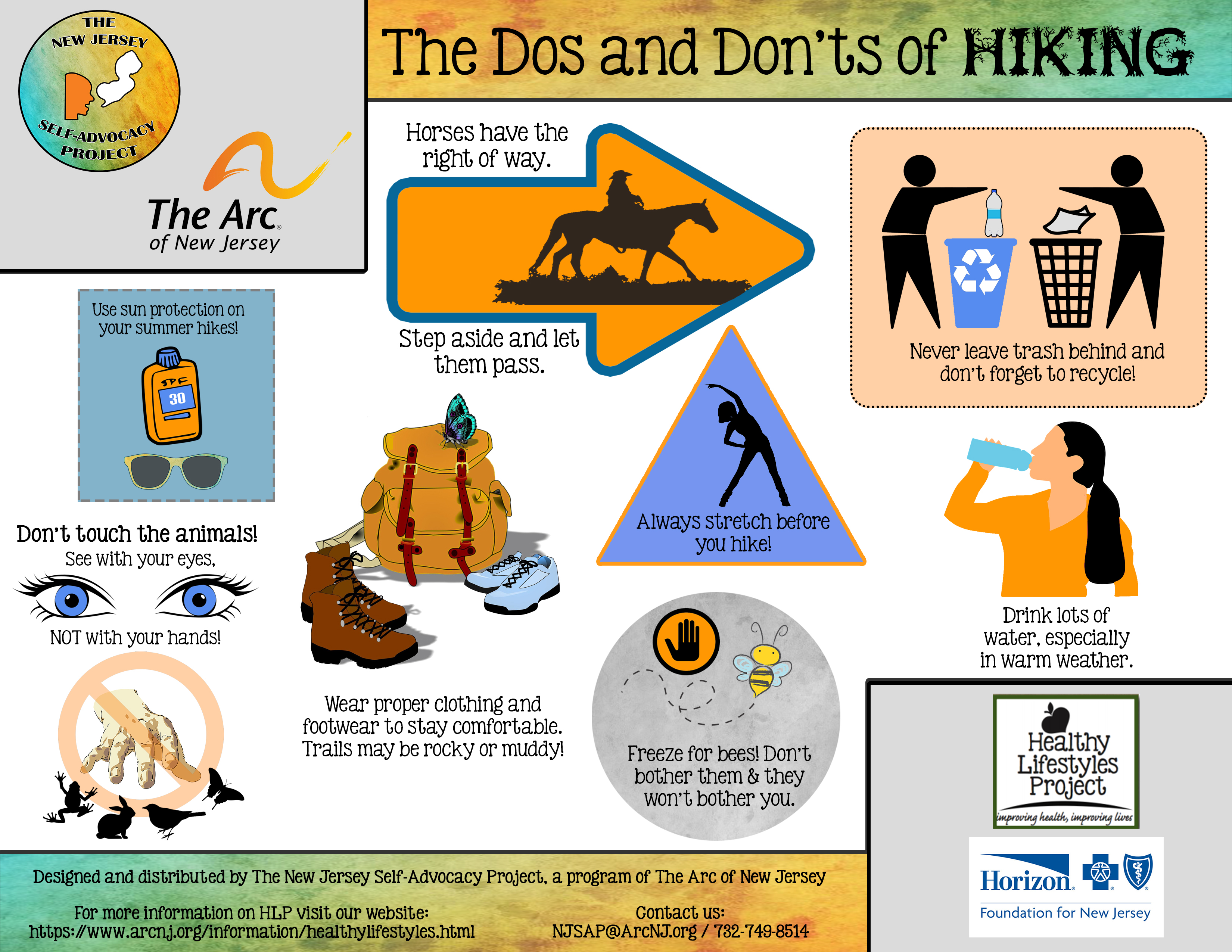 The Dos and Don'ts of Hiking