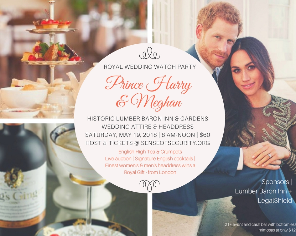 Watch The Royal Wedding.Sense Of Security News Events Royal Wedding Watch Party
