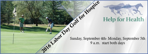 2016 LABOR DAY GOLF FOR HOSPICE