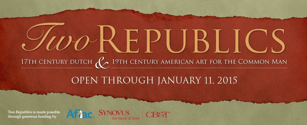 Two Republics: 17th Century Dutch & 19th Century American Art for the Common Man