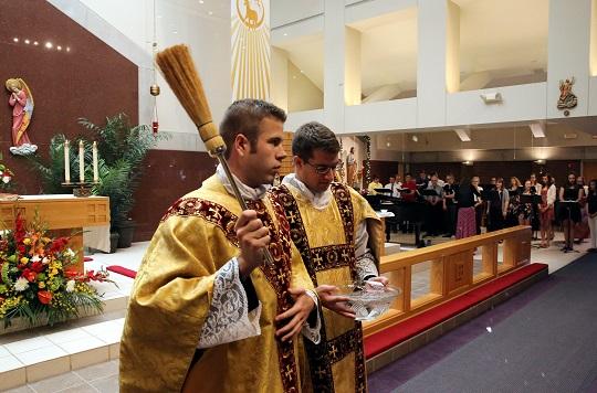 First Mass - Fr. Christopher Eckrich