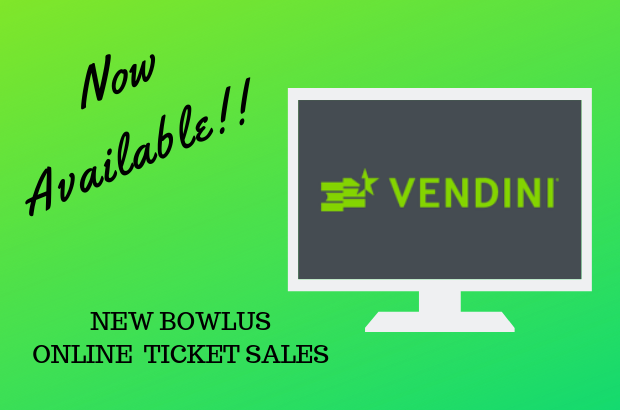 New Online Ticket Sales!