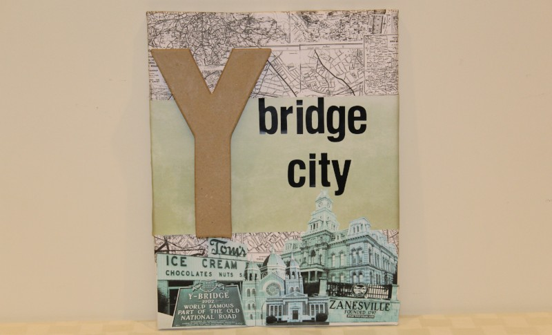 Y-Bridge City - Donated by the artist, Matt Wagner