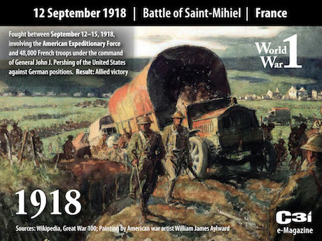 1918: U.S. Offensive on the Saint-Mihiel