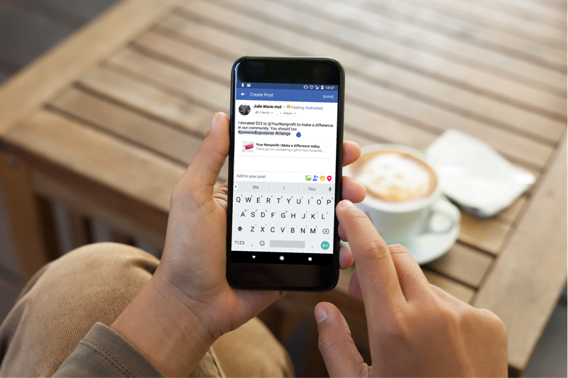 Social Share Buttons Help Raise More Money and Awareness