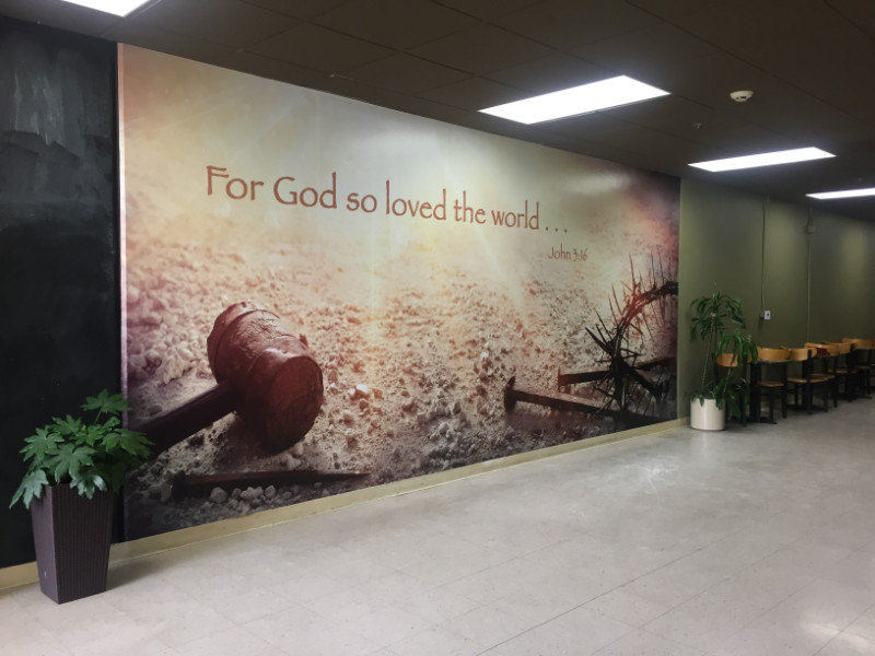 Church Signs Graphics Religious Wall Murals Banners Cerritos