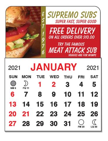 05 - Calendar Mini Calendar Sticker