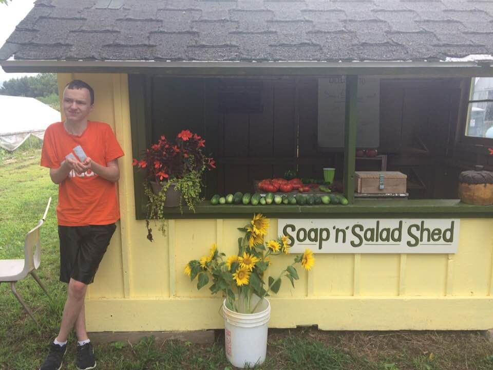 Soap n Salad Shed