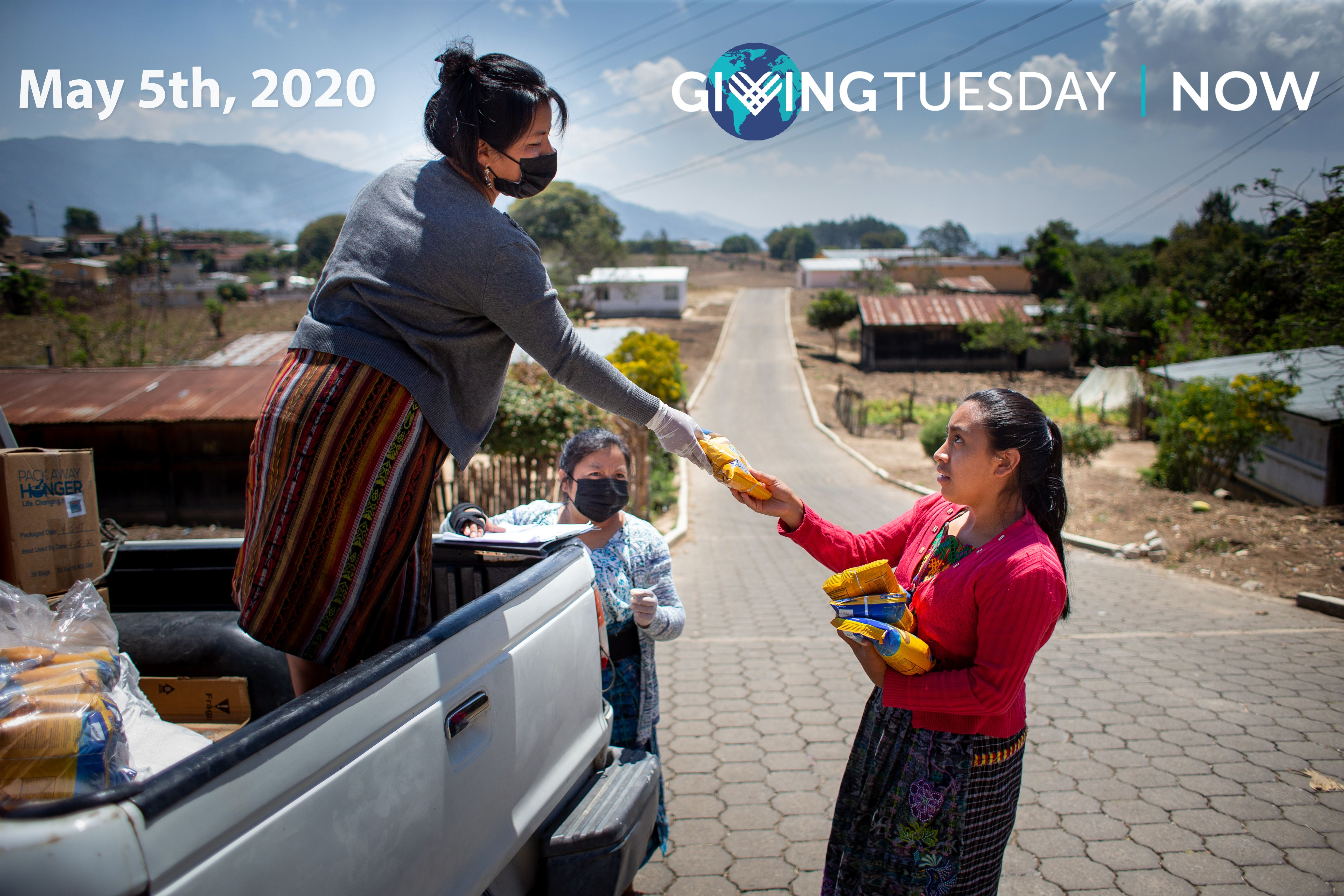 On #GivingTuesdayNOW, we're counting on YOU!