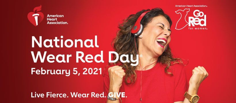Go Red for Women!!