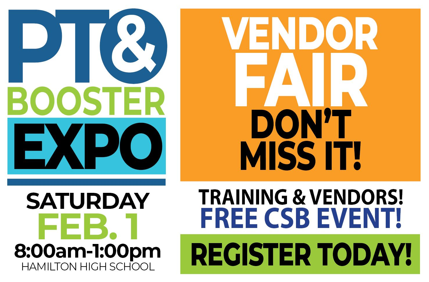 CSB Winter Expo - REGISTER TODAY!