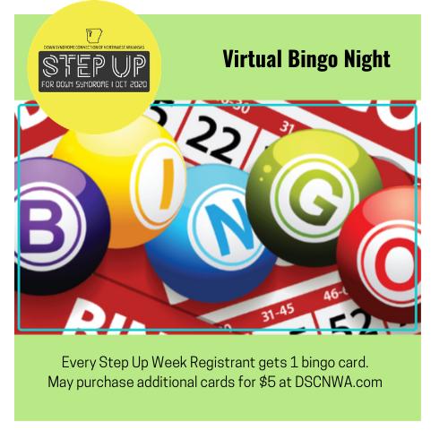 DSCNWA Step Up Week's Virtual Bingo Night