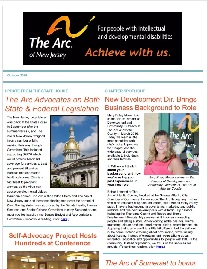 October E-Newsletter
