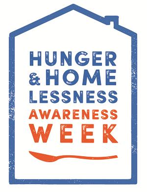 Hunger & Homelessness Awareness Week starts 11-16-19