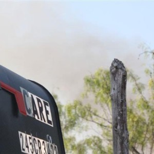 Fires Burns 100 Acres, Spares CARE