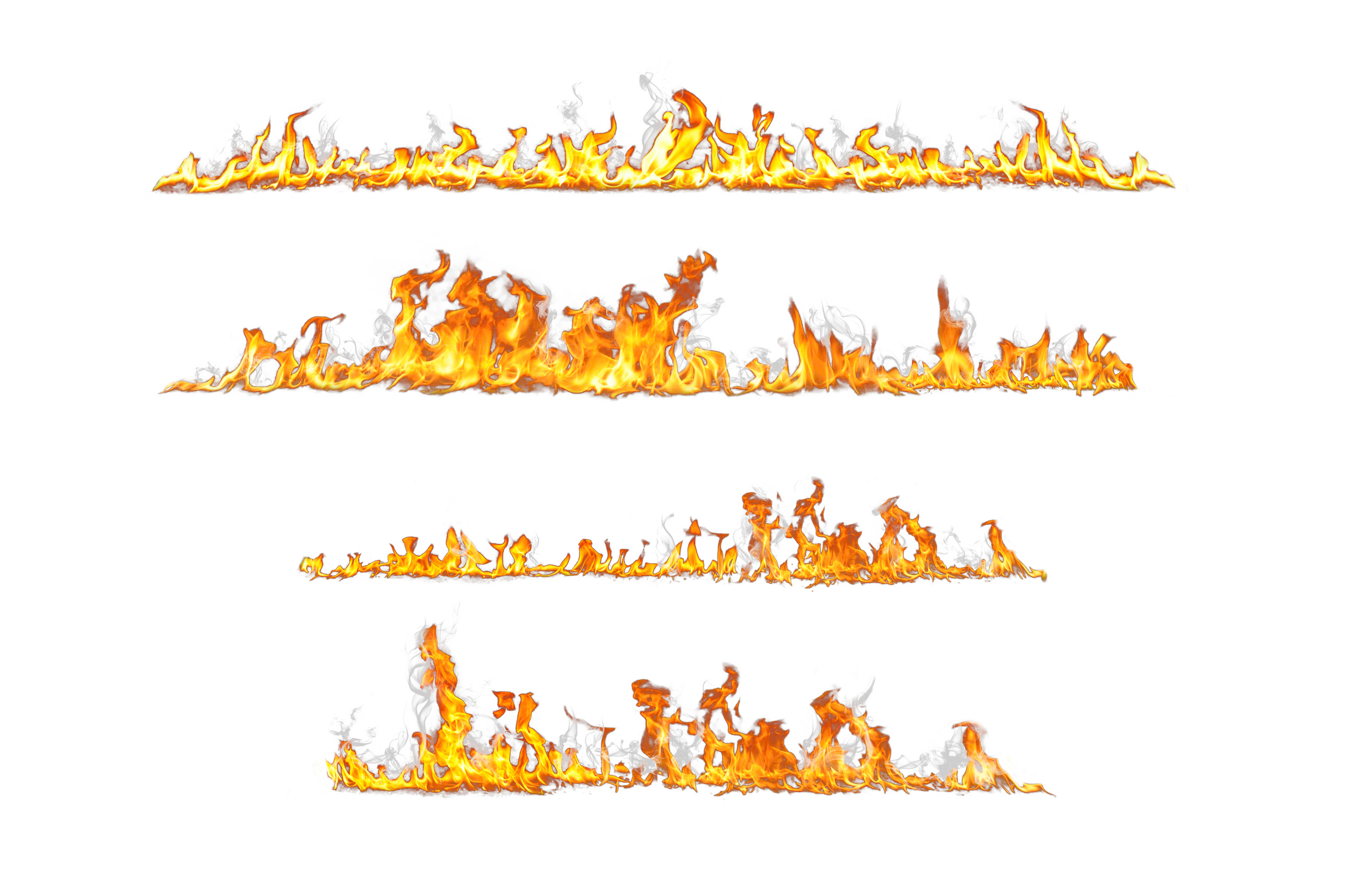 Vehicle Decals - Magnetic car decals flames