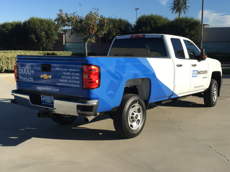 Partial Vehicle Wraps Anaheim CA
