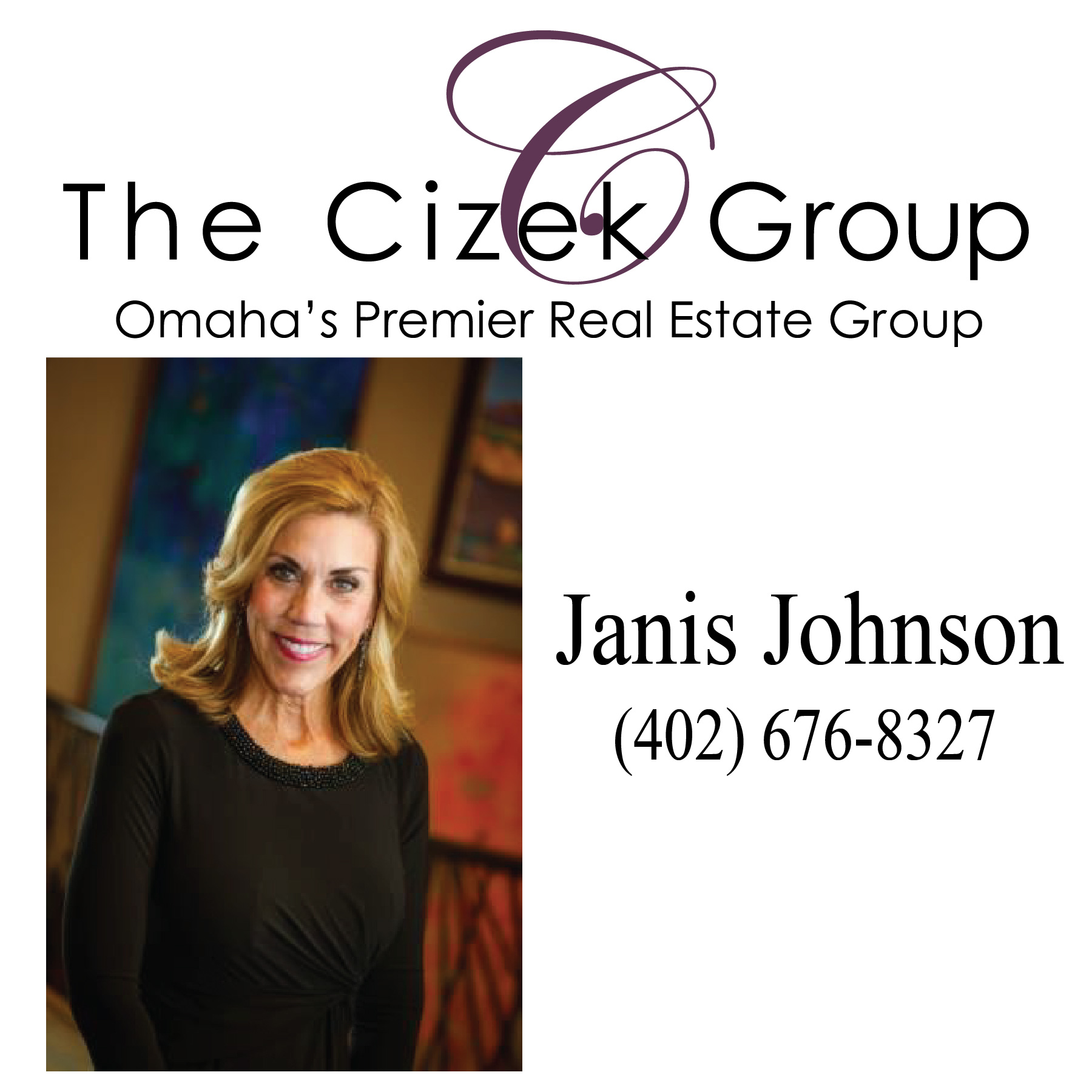 Janis Johnson - Cizek Group